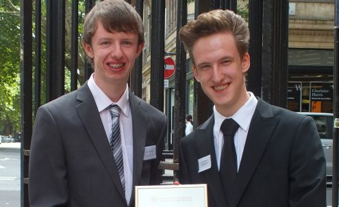 Canvey Island teenagers win Community Archive and Heritage Group of the Year 2012