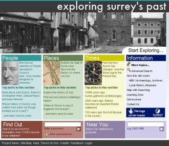 Exploring Surrey's Past
