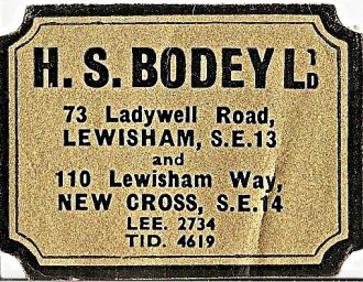H. S. Bodey Quixpede Cycles Ltd